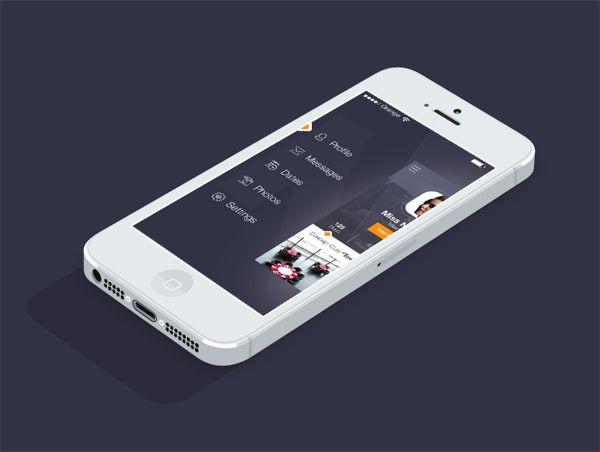 iOS7 Slide Menu
