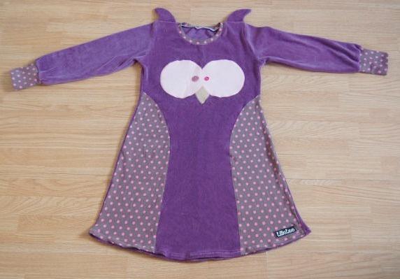 Another owl-dress. Isn't it cute?