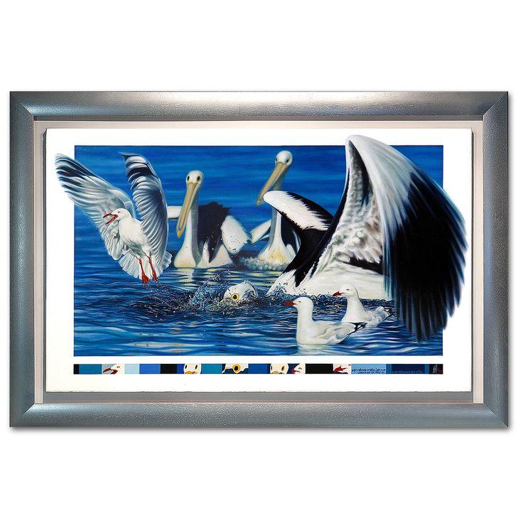 EYES OF THE PELICANS - Ian Anderson Fine Art http://ianandersonfineart.com/