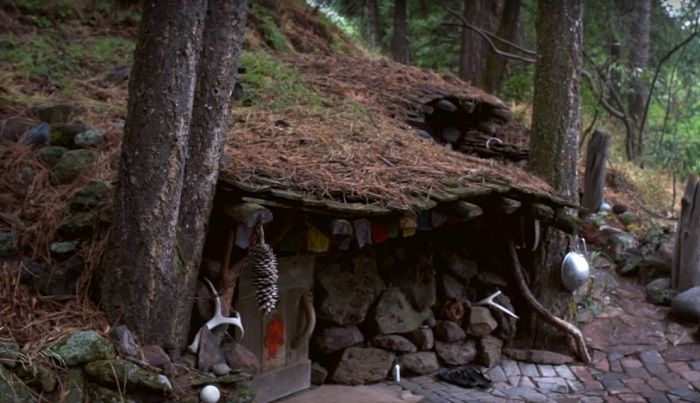 The Underground, Hidden House That Cost $100 To Build -- 'It's Like A Little Fort'