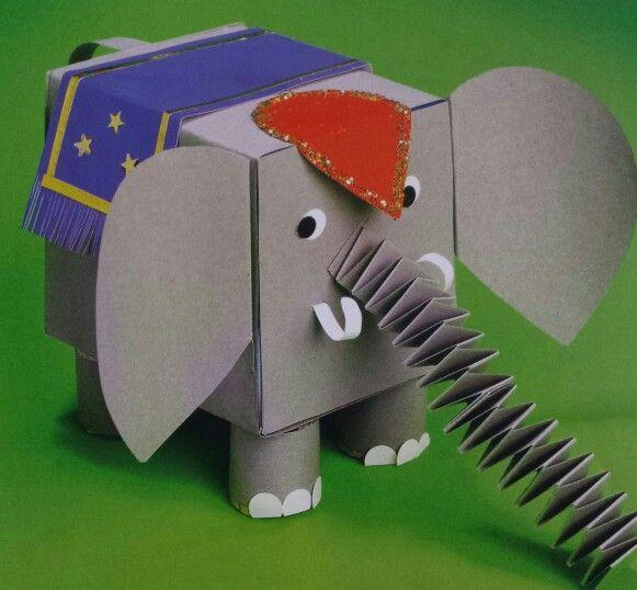 3d knutsel: olifant