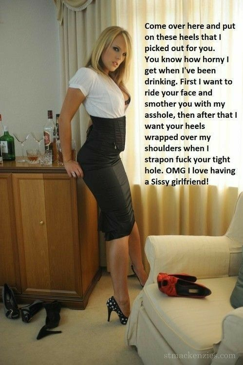 Pin By Jordan On Lesbian Gurl  Pinterest  Mistress, Femdom Captions And Sissy Maid-6166