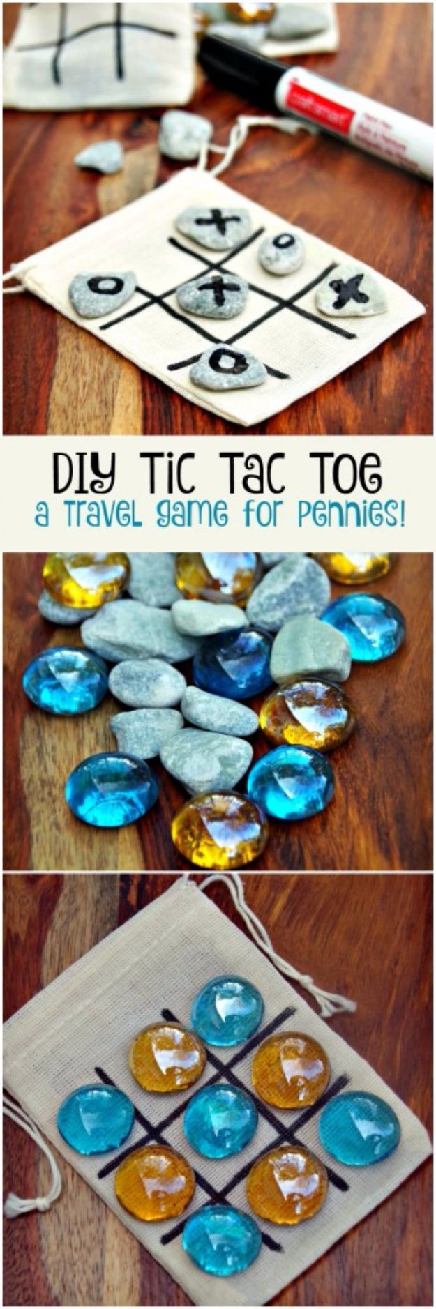 39 Easiest Dollar Store Crafts Ever - DIY Tic Tac Toe Game Board - Quick And Cheap Crafts To Make, Dollar Store Craft Ideas To Make And Sell!