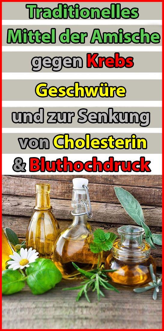 Traditionelles Mittel der Amische gegen Krebs, Geschwüre und zur Senkung von Cholesterin und Bluthoc Kirsa Liese