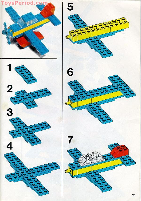 Lego Instructions Airplane Choice Image Form 1040 Instructions