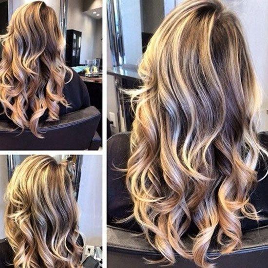 Актуальное мелирование волос 2015-2016