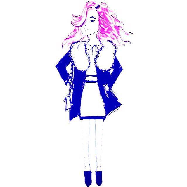 #fanart #chiaradiparma #pinkhair #fashion