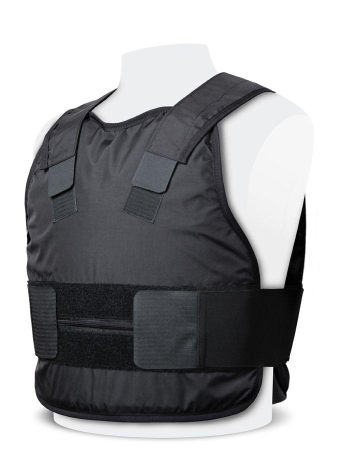 Stab Resistant Vest – Covert - Black - KR1 or NIJ III