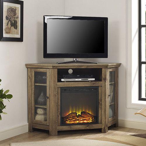 The 25+ best Corner fireplace tv stand ideas on Pinterest ...