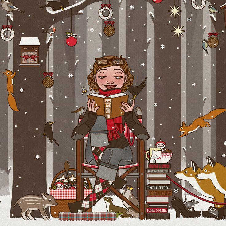 Ich wünsche Euch und all Euren Lieben ein ebenso wunderbares wie herzerwärmendes Weihnachtsfest, merry christmas et joyeux noël! (c) Iris Luckhaus