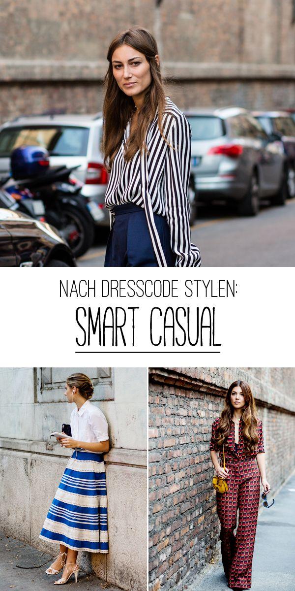 """Was ist eigentlich gemeint, wenn als Dresscode """"Smart Casual"""" erbeten wird? Hier finden Sie Stylingtipps für den Dresscode """"Smart Casual"""" und Outfit-Inspiration."""