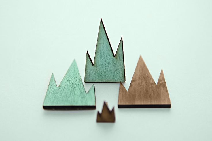 R/H, Mountain ja Minimountain korvakorut // R/H, Mountain and Minimountain earrings