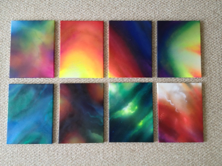 "Hawaiian Akua (gods and goddesses). New series of 12x16"" canvases"