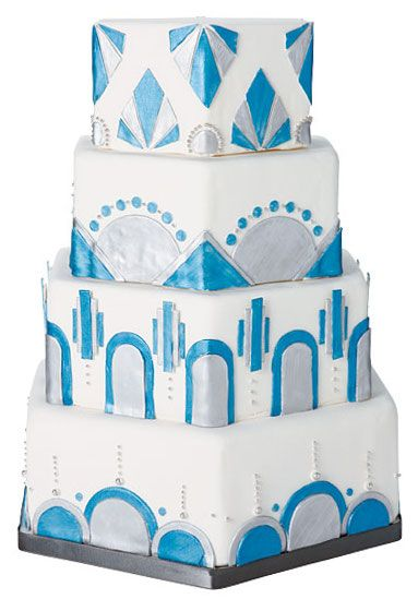 Art Deco Cake Slice : 48 best Art Deco Design Ideas images on Pinterest