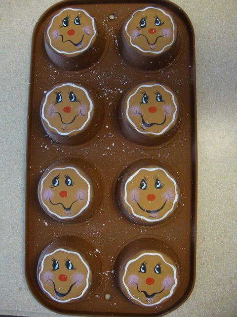 8 cup Gingerbread Muffin Tin