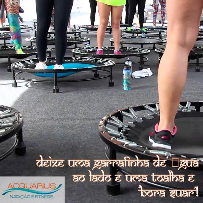 #AcquariusFitness JUMP, Conheça a história e tenha boa forma. Quem já conhece, sabe o quanto é gostoso perder calorias e manter a saúde em dia ao mesmo tempo em que se diverte pulando nos trampolins da academia. Veja mais em http://www.acquariusfitness.com.br/…/jump-conheca-a-histor…/ #Jump #JumpFitness #facajump #venhapraacquariusfitness