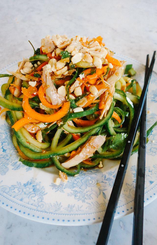 The Londoner » Pad Thai Salad (Low Carb!)