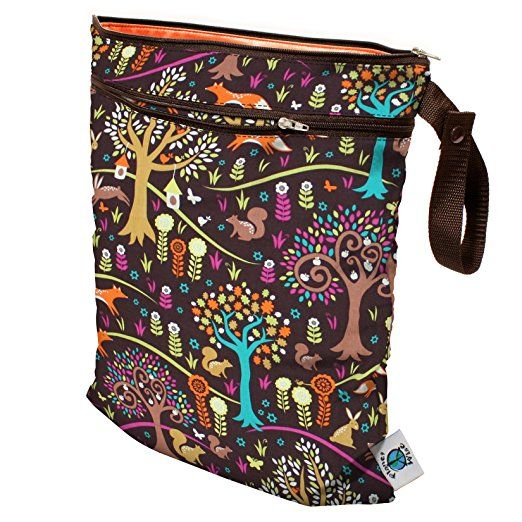 Planet Wise Wet/Dry Bag, Jewel Woods