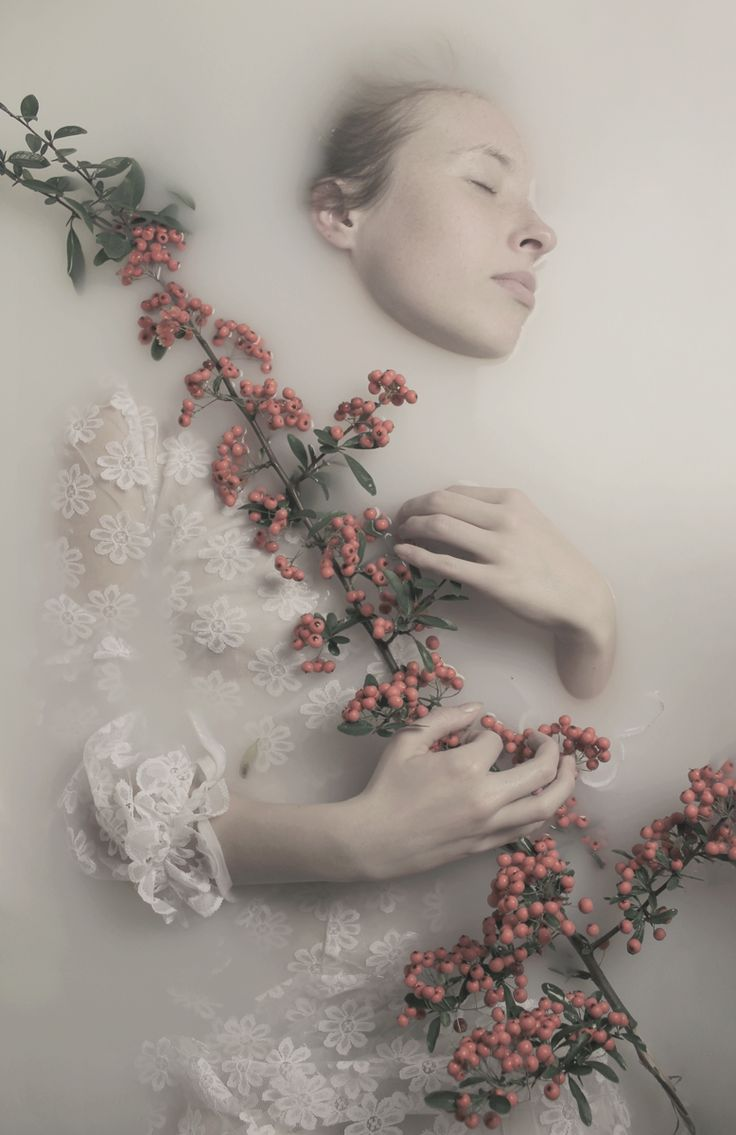 The death of a pure Ophelia surrounded in the dank and dirty water with her much loved flowers.