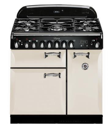 """ALEG36-DF-IVY Legacy Series 36"""" Freestanding Pro-Style Dual Fuel Range with 5 Sealed Burners 2.2 cu. ft. Convection Oven 1.8 cu. ft. 7 Mode Multifunction Oven and Solid Doors in Ivory"""