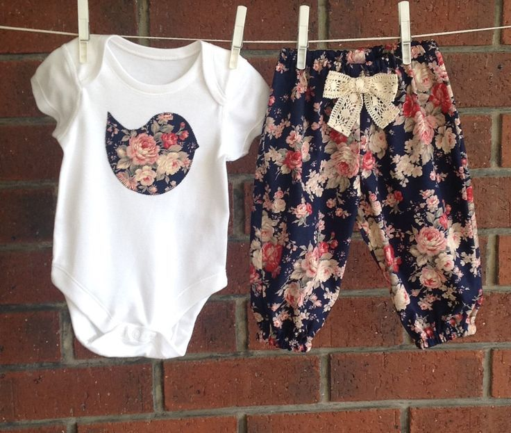 BABY CLOTHES NAVY, baby girl, cute baby outfit, vintage look floral outfit, size 3 6 12 18 months, navy floral cotton outfits, baby gift set by TwoBlackRabbits on Etsy https://www.etsy.com/listing/472026587/baby-clothes-navy-baby-girl-cute-baby