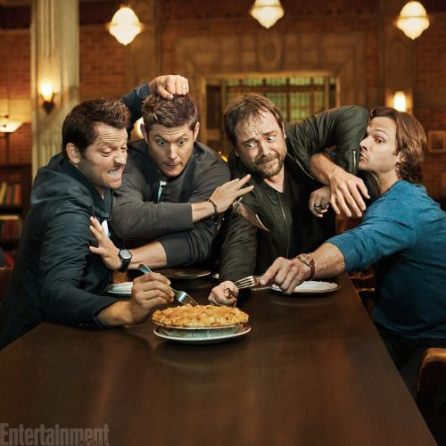 Be still our hearts! See 4 Exclusive Photos of the Supernatural...