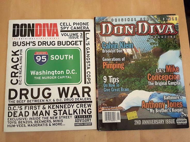 Don Diva Magazine LOT V3 11 NELLY DRUGS HIP HOP GANGSTER CRIME V2