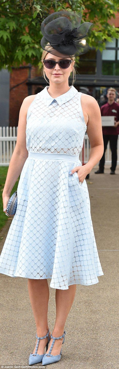 Royal Ascot, June 16, 2016. Holly Candy also kept things simple but elegant...