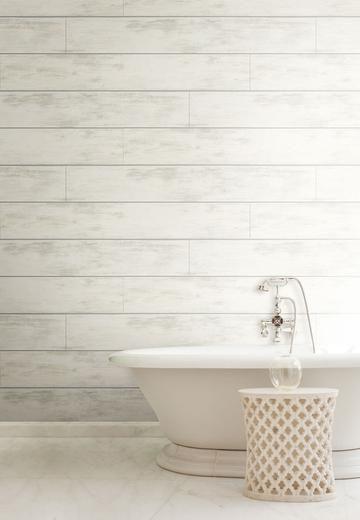 Magnolia Home Shiplap Wallpaper – Cool White