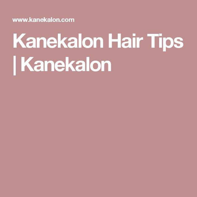 Kanekalon Hair Tips | Kanekalon