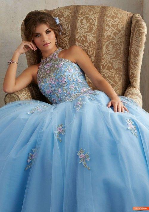 vestidos-novia-fiesta-noche:  Vestidos de 15 Años Sencillos...