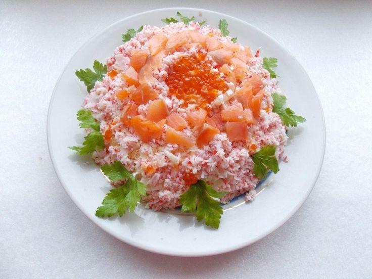 Праздничный слоёный салат «Самоцветы». Пошаговый рецепт с фото - Ботаничка.ru