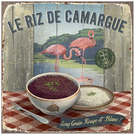 Riz de Camargue Stampa artistica