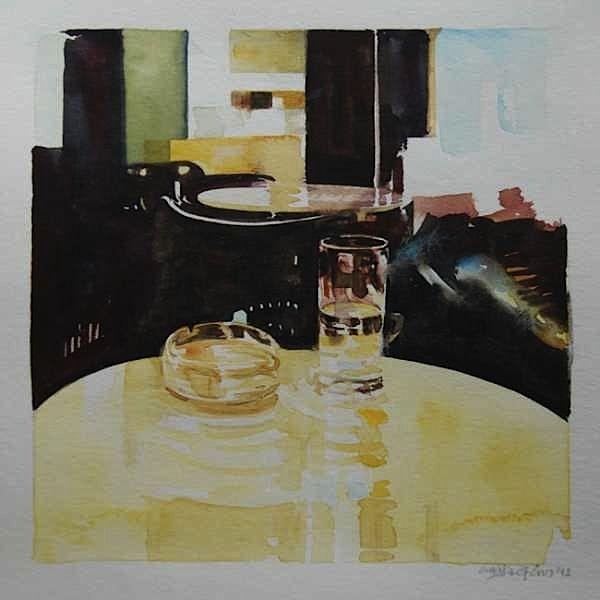 Giorgos saltaferos, aquarelle 20x20 cm artstadt bern 2012
