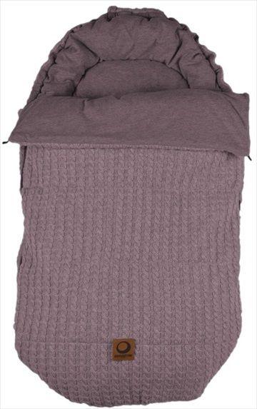 EASYGROW 'Grandma' Sovepose/Vognpose - Pink/Rosa Melange. Nydelig 'retro' stil sovepose, denne 'Grandma' soveposen er laget av myk bambus og ull. Posen er beregnet på helårsbruk og har en avtagbar dundyne - den beste av begge verdener! Frifrakt Kr 2399