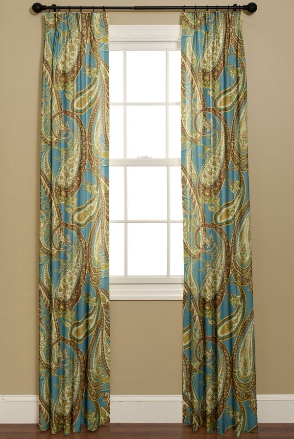 dupioni pdch panel peacock curtain drapes half faux textured htm price silk productdetail vintage single x curta