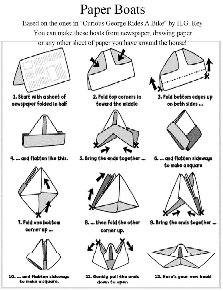DIY Waterproof Origami Sailboat for Nautical Baby Showers ...