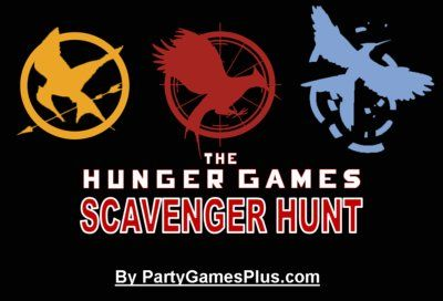 printable Hunger Games Scavenger Hunt... AWESOME!!!
