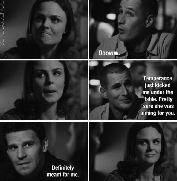 Bones | Brennan, Booth and Jared