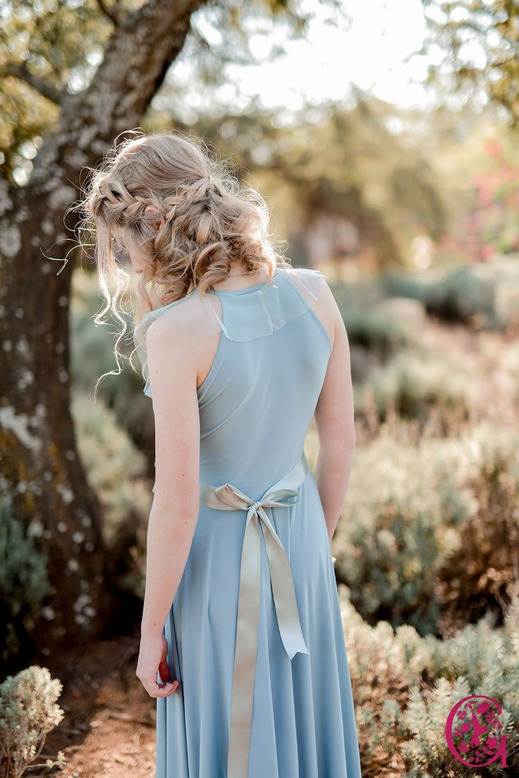 The Back of a Gelique Lyla Dress with a tulle frill