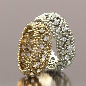 Шикарные дизайнерские обручальные кольца 52500 руб.За пару