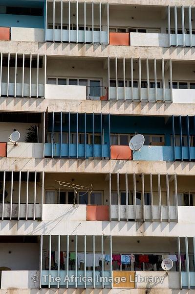 Mozambique, Maputo, high-rise building