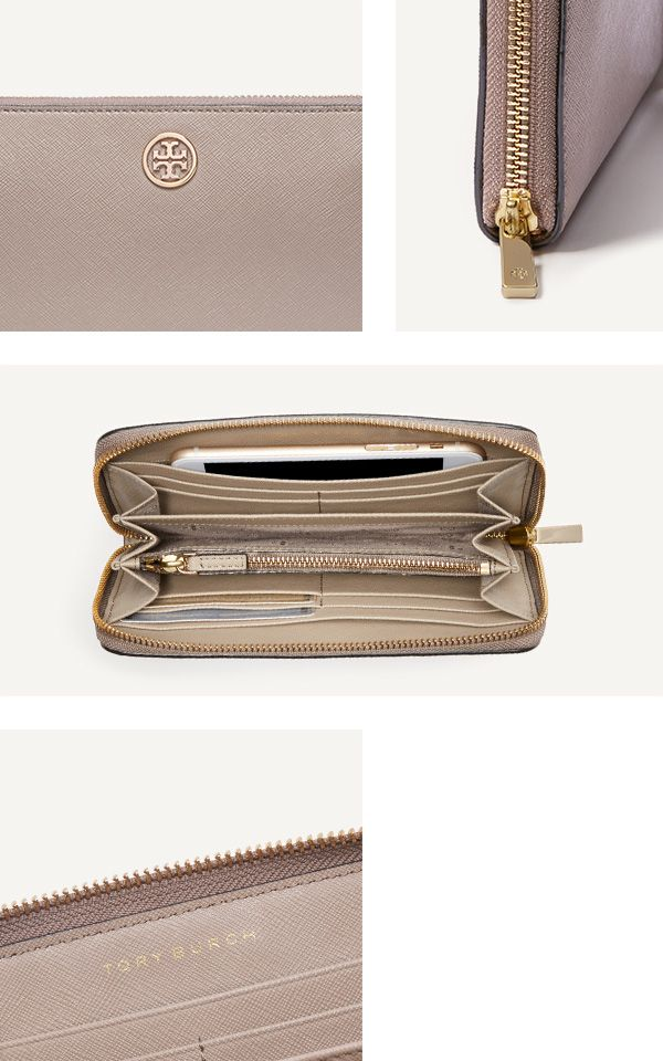 The Robinson Multi-Gusset Zip Continental Wallet