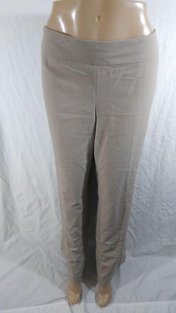 3c042ab2433 Roz   Ali Size 14 Khaki Dress Work Pants Tummy Control  RozAli  DressPants   plussize  plussizefashion