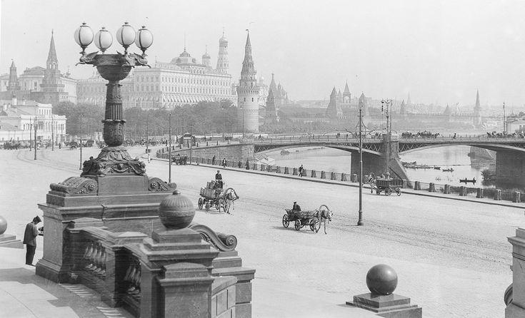 Фото старой Москвы в высоком разрешении