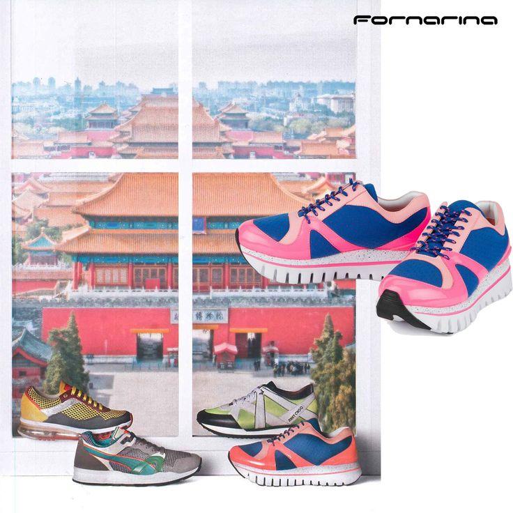 Fornarina Funlight on Glamour Italia #myFornarina #presspic #SS15 #sneakers