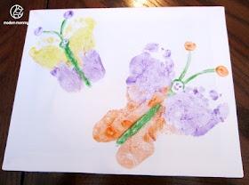 Butterfly Footprints. Little sisters.: Footprint Art, Classroomart Projects, Crafts Ideas, Butterfly Art, Kids Crafts, Kids Art, Butterflies Footprint, Footprint Butterflies, Butterflies Art