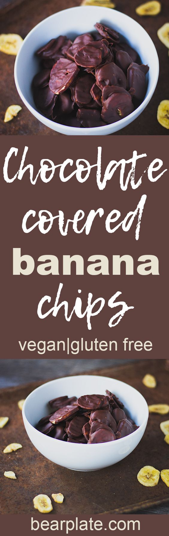 DELICIOUS!!! Chocolate Covered Banana Chips! #vegan #glutenfree #plantbased #snack #dessert #recipe #food