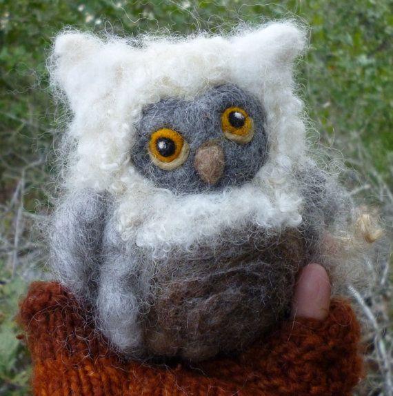 Hoi! Ik heb een geweldige listing gevonden op Etsy https://www.etsy.com/nl/listing/129448030/make-your-own-needle-felted-fluffy-owl