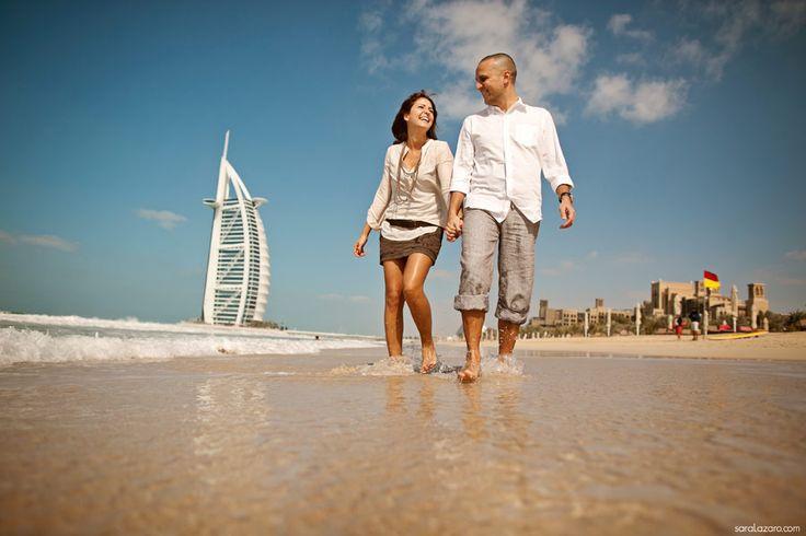 Destination Wedding Photographer Dubai - Engagement in Dubai by Sara Lazaro